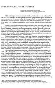 Microsoft Word - Pogovor i bibliografija uz 2. izbor iz A. Nasir