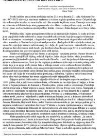 Pogovor i bibliografija uz 2. izbor iz A. Nasira